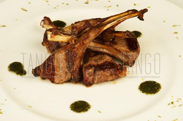 Costillitas de Cordero Tango Restaurante