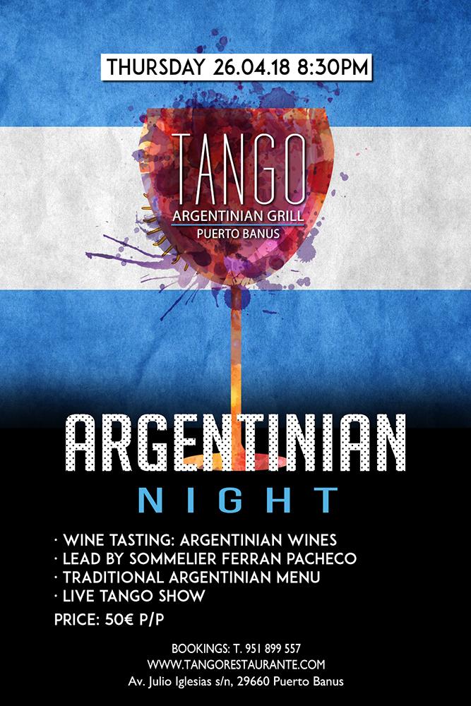 1º Tango Argentinian Night