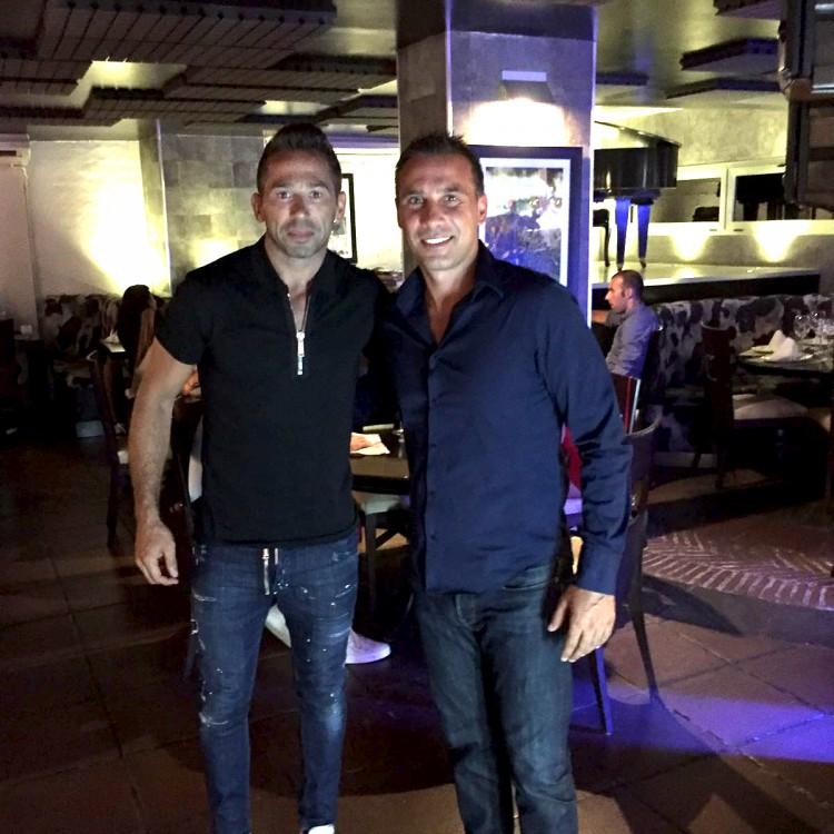 Raul Tamudo + Lucho
