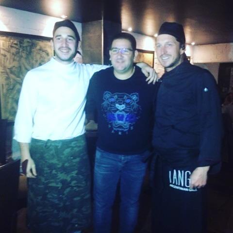 Dani Garcia en Tango Restaurante