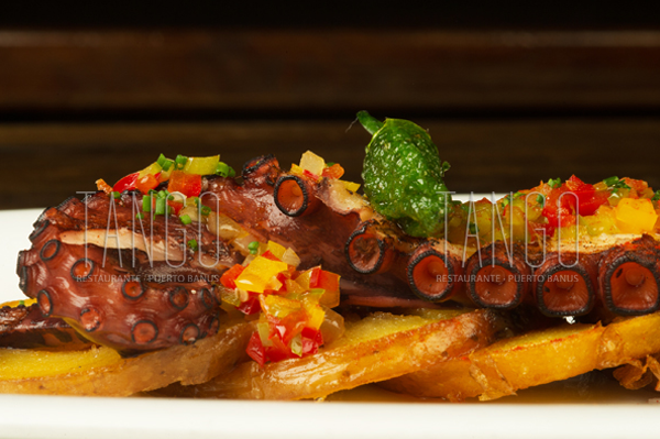 Pulpo - Tango Restaurante